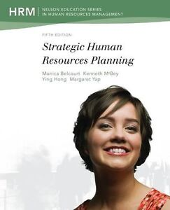 Strategic Human Resources Planning Belcourt 5th Ed. Oakville / Halton Region Toronto (GTA) image 1