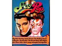 THE STORY OF POP HARDBACK BOOK...ELVIS, THE BEATLES, DAVID BOWIE ETC