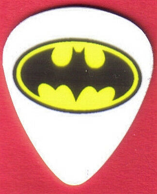 Batman Logo Full Color Guitar Pick
