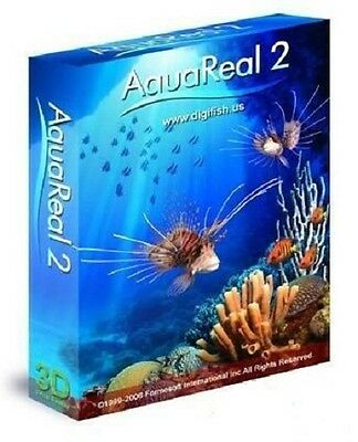 Digi Fish Aqua Real 2 Aquarium Marine Screensaver Saver