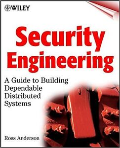 Security Engineering, by Anderson Textbook