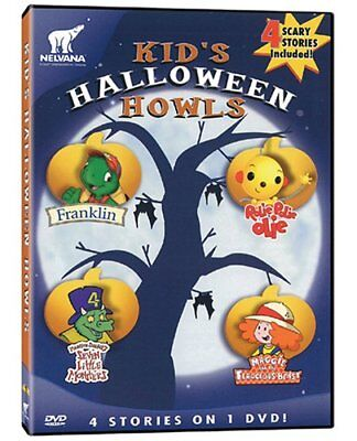 Kid's Halloween Howls: Franklin / Maggie and the Ferocious Beast / Rolie Polie O](New Kid Halloween Movies)