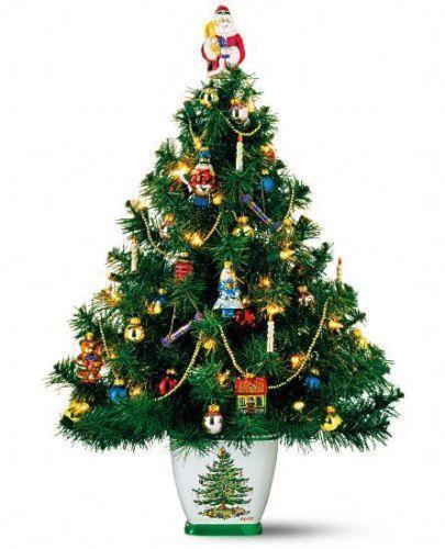 Ebay Christmas Tree: Porcelain Christmas Tree