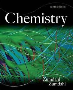 Zumdahl Chemistry 9th Edition with Solution Manuals Volume 1&2