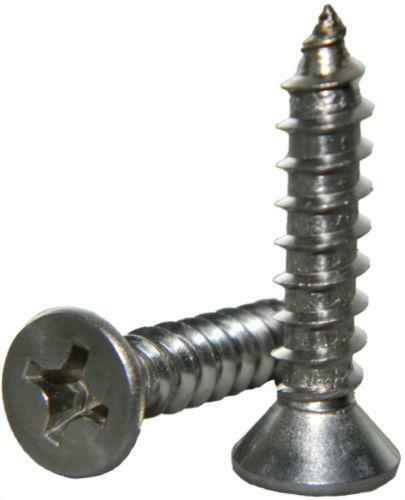 stainless steel self tapping screws ebay. Black Bedroom Furniture Sets. Home Design Ideas