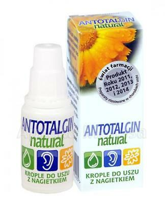 ANTOTALGIN NATURAL EAR DROPS 15g / ANTOTALGIN NATURAL  KROPLE DO USZU 15g