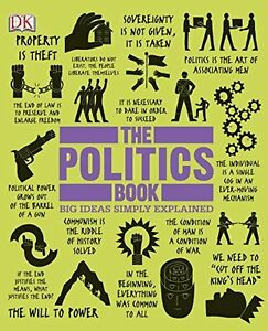 Politics Book-Excellent look at politics over the ages-Hardcover