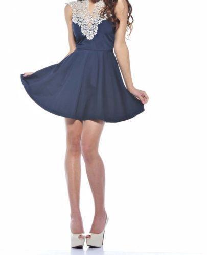 ab13b72c79fe AX Paris Crochet Dress | eBay