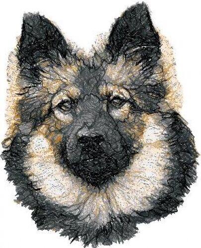 Embroidered Fleece Jacket - Keeshond AED16086  Sizes S - XXL