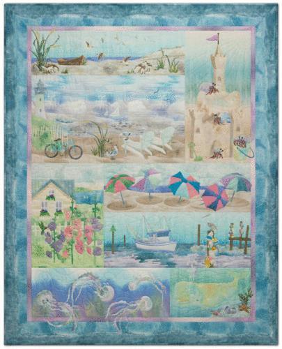 Ocean Quilt Pattern Ebay