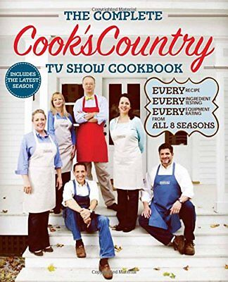 NEW The Complete Cook's Country TV Show Cookbook Season 8