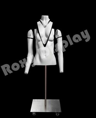 Female Invisible Ghost Mannequin Torso Form Magnetic Fittings Mz-gh12f