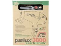 Parlux 3800 eco friendly hair dryer - Brand New In Box