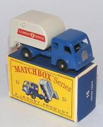 Matchbox Refuse Truck