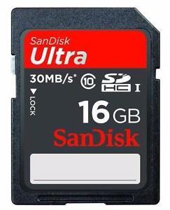 Sandisk SDSDU-016G-U46 - SANDISK SDHC 16GB 30MB/S CLASS 10