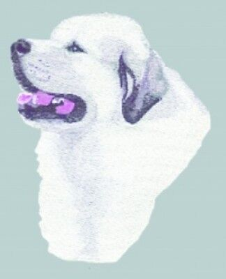 Large Embroidered Zippered Tote - Great Pyrenees BT3414