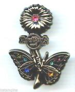 Hard Rock Cafe Butterfly Pins