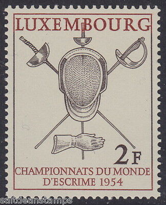LUXEMBOURG - 1954 World Fencing Championships (1v) - UM / MNH