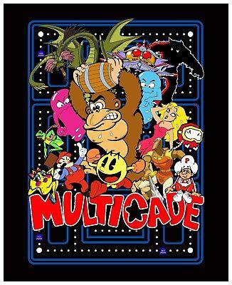 DRAGON Design DK Arcade Classics Side Art (2pc set) Multicade  26