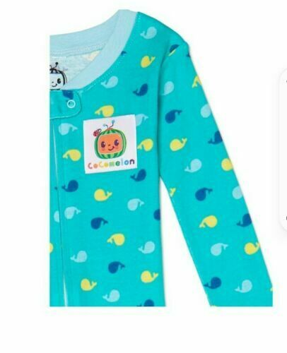 NWT Cocomelon Baby & Toddler Baby JJ Snug Fit Cotton Footless Pajamas