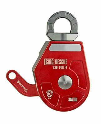 Cmc Rescue 300343 Csr2 Pulleys Compatible With 11-13 Mm Rope Red Gray