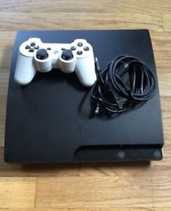 PS3 Slim - 160 GB with Games