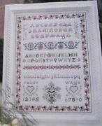 Traditional Sampler Cross Stitch