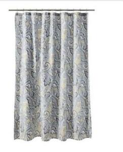 Grey Paisley Curtains Home Ideas