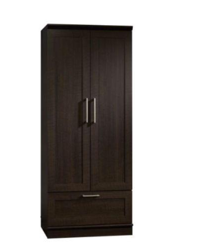 black wardrobe armoire ebay. Black Bedroom Furniture Sets. Home Design Ideas