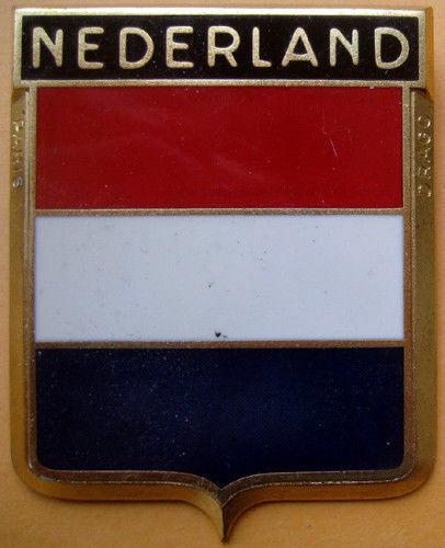 Badge auto car drago 1950s original Nederland Netherlands