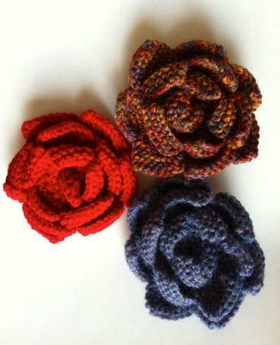 Flower Knitting Pattern | eBay