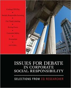 Issues For Debate in Corporate Social Responsibility Oakville / Halton Region Toronto (GTA) image 1