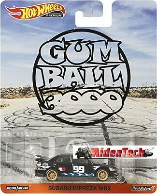 2019 Hot Wheels Retro Gum Ball 3000 Subaru Impreza WRX 1/64 Diecast DMC55-956N