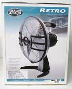 Hunter Table Fan