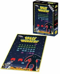 NEW--STILL SEALED Collectors SPACE INVADERS Puzzle by USApoly