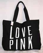 Victorias Secret Pink Zip Tote
