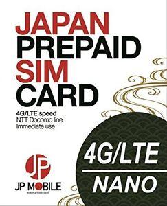 JP Mobile SIM Card: Prepaid Data SIM for Japan Travellers: 31 days 4.0Gb !!