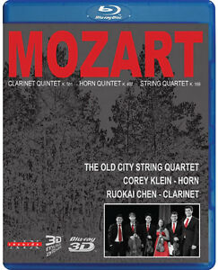 Mozart the old city string quartet BLU-RAY