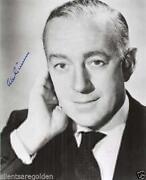 Alec Guinness Signed
