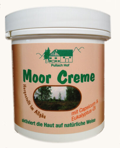 Moor Creme 250ml Balsam Massage Pullach Hof  #1191