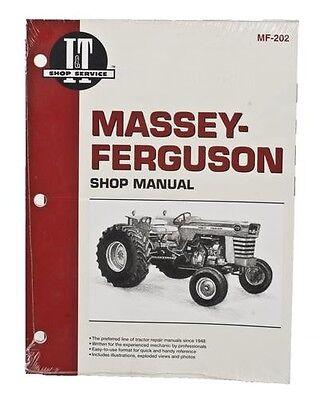 It Shop Manual For Massey Ferguson 175 180 205 210 220 2675 2705 2745 2775 2805