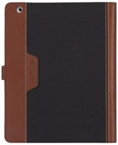 Griffin Folio for iPad 2, iPad 3, and iPad (4th gen), black/brown - Multiposition folio case
