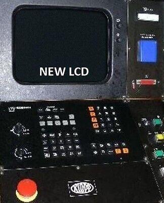Replace 14 Heidenhain Tnc 355 Crt With New Lcd Monitor