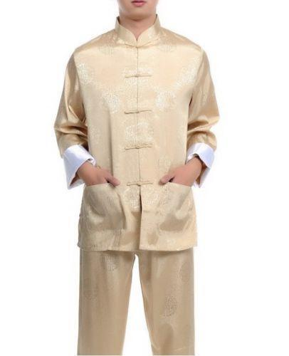 Silk Pajama Suit Clothing Shoes Amp Accessories Ebay