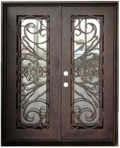 Double entry doors ebay for Home double entry doors
