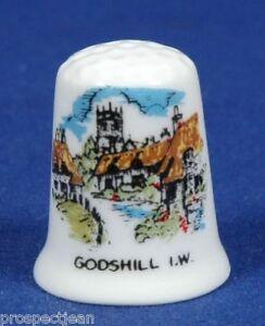 Godshill-I-O-W-China-Thimble-B-39