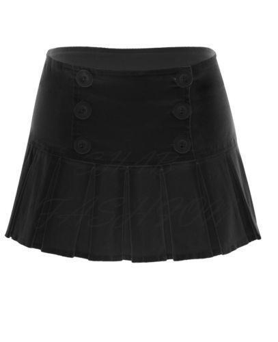 Black Pleated Skirt | eBay