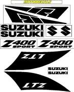 Suzuki Decal Kit
