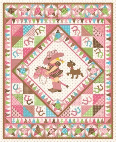 Cowgirl Western Fabric Ebay