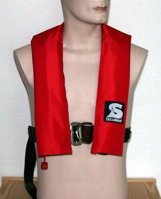 Rettungsweste Secumar Ultra PX 150 mit Harness (Lifebelt) mit Schrittgurt